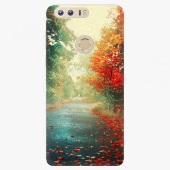Silikonové pouzdro iSaprio - Autumn 03 - Huawei Honor 8