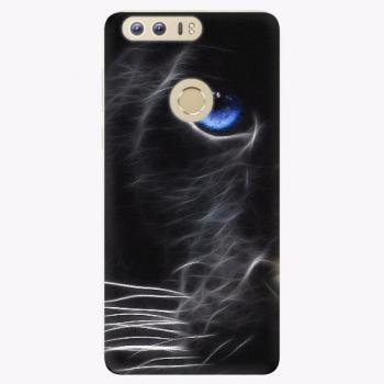 Silikonové pouzdro iSaprio - Black Puma - Huawei Honor 8