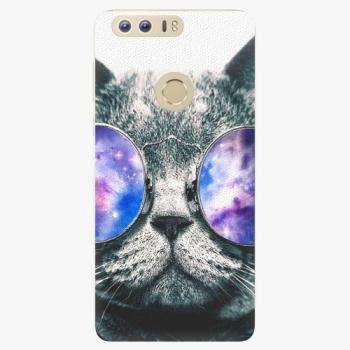 Silikonové pouzdro iSaprio - Galaxy Cat - Huawei Honor 8