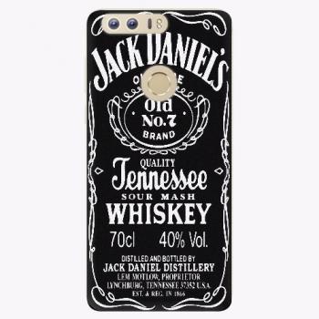 Silikonové pouzdro iSaprio - Jack Daniels - Huawei Honor 8