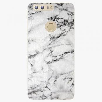 Silikonové pouzdro iSaprio - White Marble 01 - Huawei Honor 8
