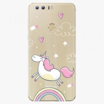 Silikonové pouzdro iSaprio - Unicorn 01 - Huawei Honor 8