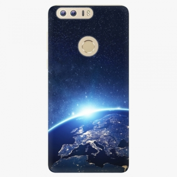 Silikonové pouzdro iSaprio - Earth at Night - Huawei Honor 8
