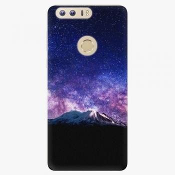 Silikonové pouzdro iSaprio - Milky Way - Huawei Honor 8