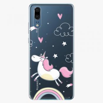 Silikonové pouzdro iSaprio - Unicorn 01 - Huawei P20