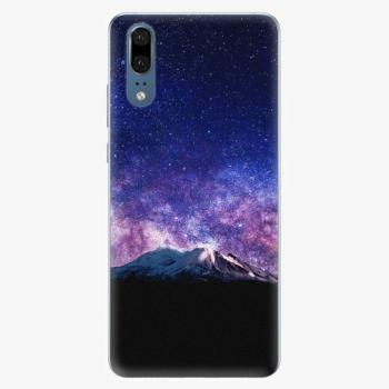 Silikonové pouzdro iSaprio - Milky Way - Huawei P20